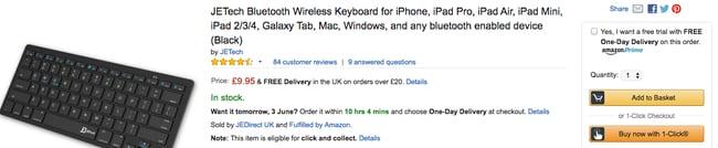 Amazon great SEO e-commerce