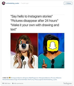 tweet about instagram stories