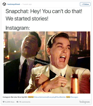 instagram post about instagram stories