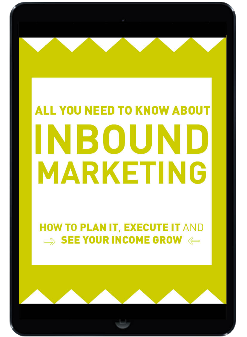 inbound marketing EBOOK no background