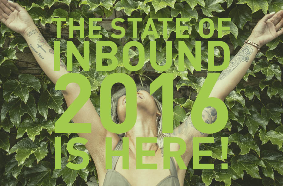 What Marketing and Sales Can Learn From The State of Inbound 2016 [FREE REPORT]